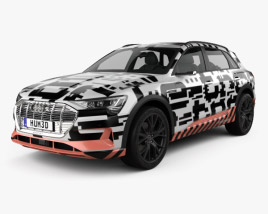 3D model of Audi e-tron Prototype 2018