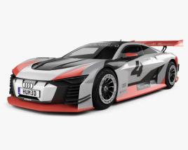 3D model of Audi e-tron Vision Gran Turismo 2018