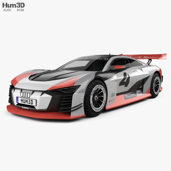 Audi e-tron Vision Gran Turismo 2018 3D model