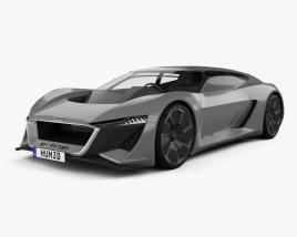 3D model of Audi PB18 e-tron 2018
