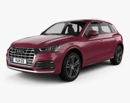 3D model of Audi Q5 L S-line CN-spec 2018