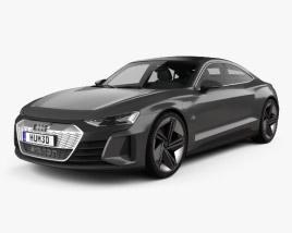 3D model of Audi e-tron GT 2018