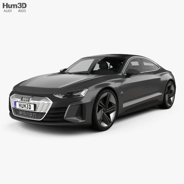 Audi e-tron GT concept 2018 3D model
