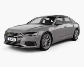 3D model of Audi A6 (C8) sedan 2018