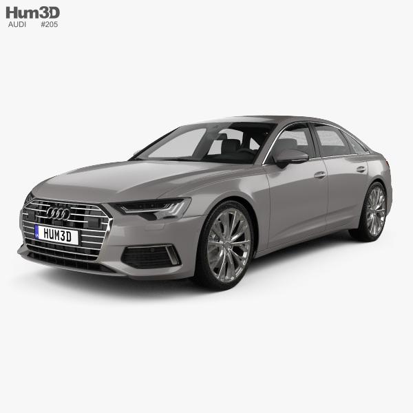 Audi A6 (C8) sedan 2018 3D model
