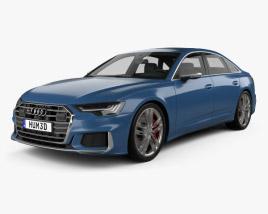 3D model of Audi S6 sedan 2019