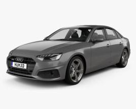3D model of Audi A4 sedan 2019