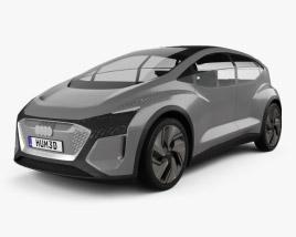 3D model of Audi AI:ME 2019