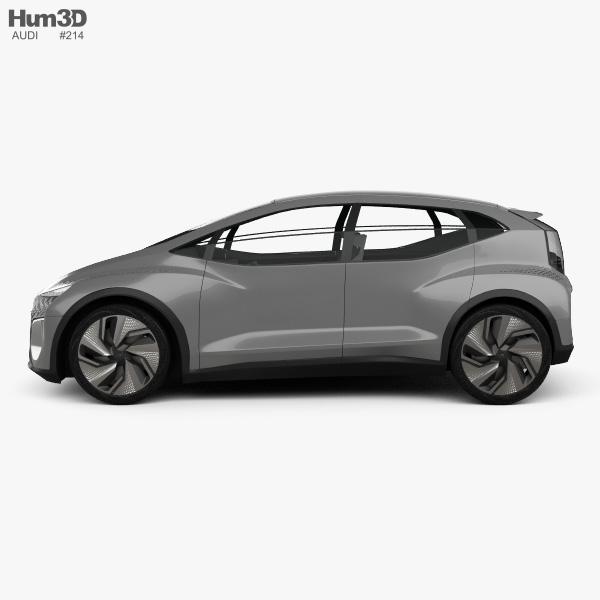 Audi AI:ME 2019 3D model