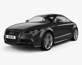 3D model of Audi TTS coupe 2010