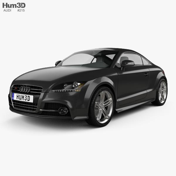 Audi TTS coupe 2010 3D model