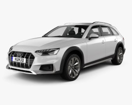 3D model of Audi A4 Allroad 2019