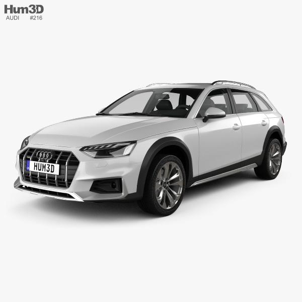 Audi A4 Allroad 2019 3D model