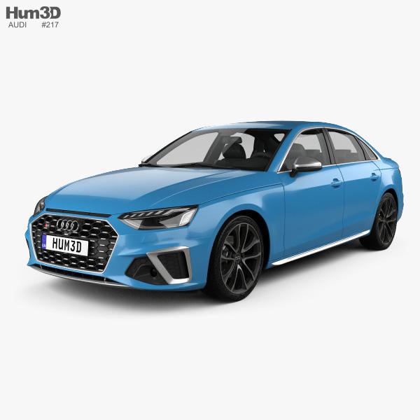 3D model of Audi S4 sedan 2019