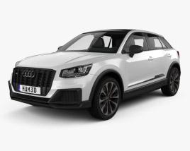3D model of Audi SQ2 2019