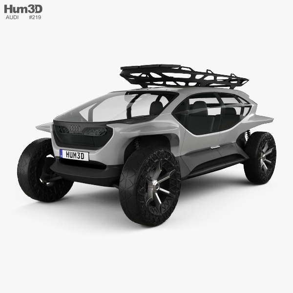 Audi AI:TRAIL quattro 2019 3D model