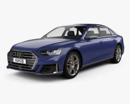 3D model of Audi S8 L 2020