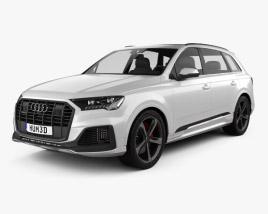 3D model of Audi Q7 S-line 2019