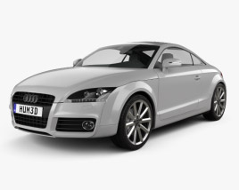 3D model of Audi TT coupe 2010