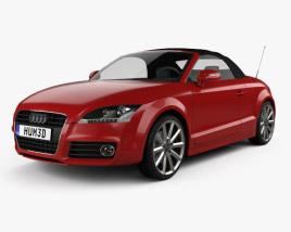 3D model of Audi TT roadster 2010