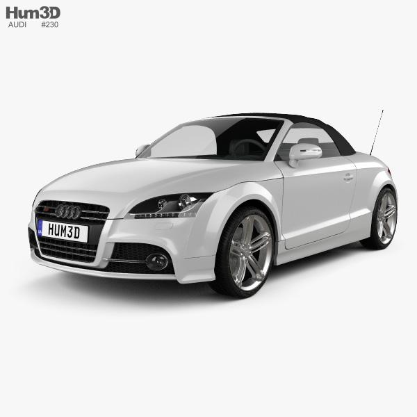 Audi TTS roadster 2010 3D model
