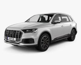 3D model of Audi Q7 2019
