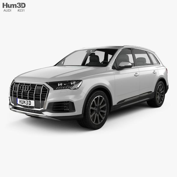 Audi Q7 2019 3D model