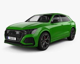 3D model of Audi Q8 RS 2020