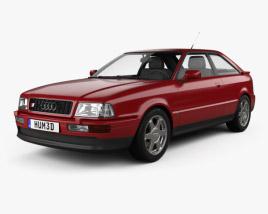 Audi S2 coupe 1990 3D model