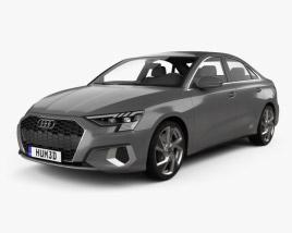 3D model of Audi A3 sedan 2020