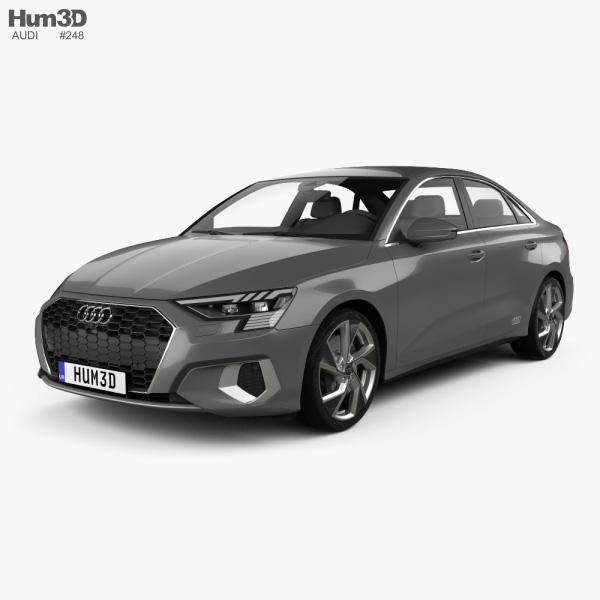 Audi A3 sedan 2020 3D model