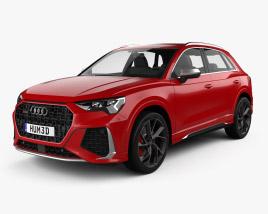 3D model of Audi Q3 RS 2019