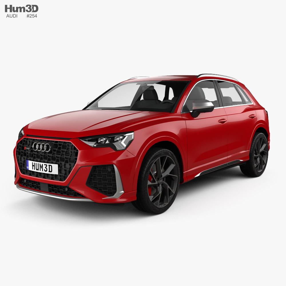 Audi Q3 RS 2019 3D model