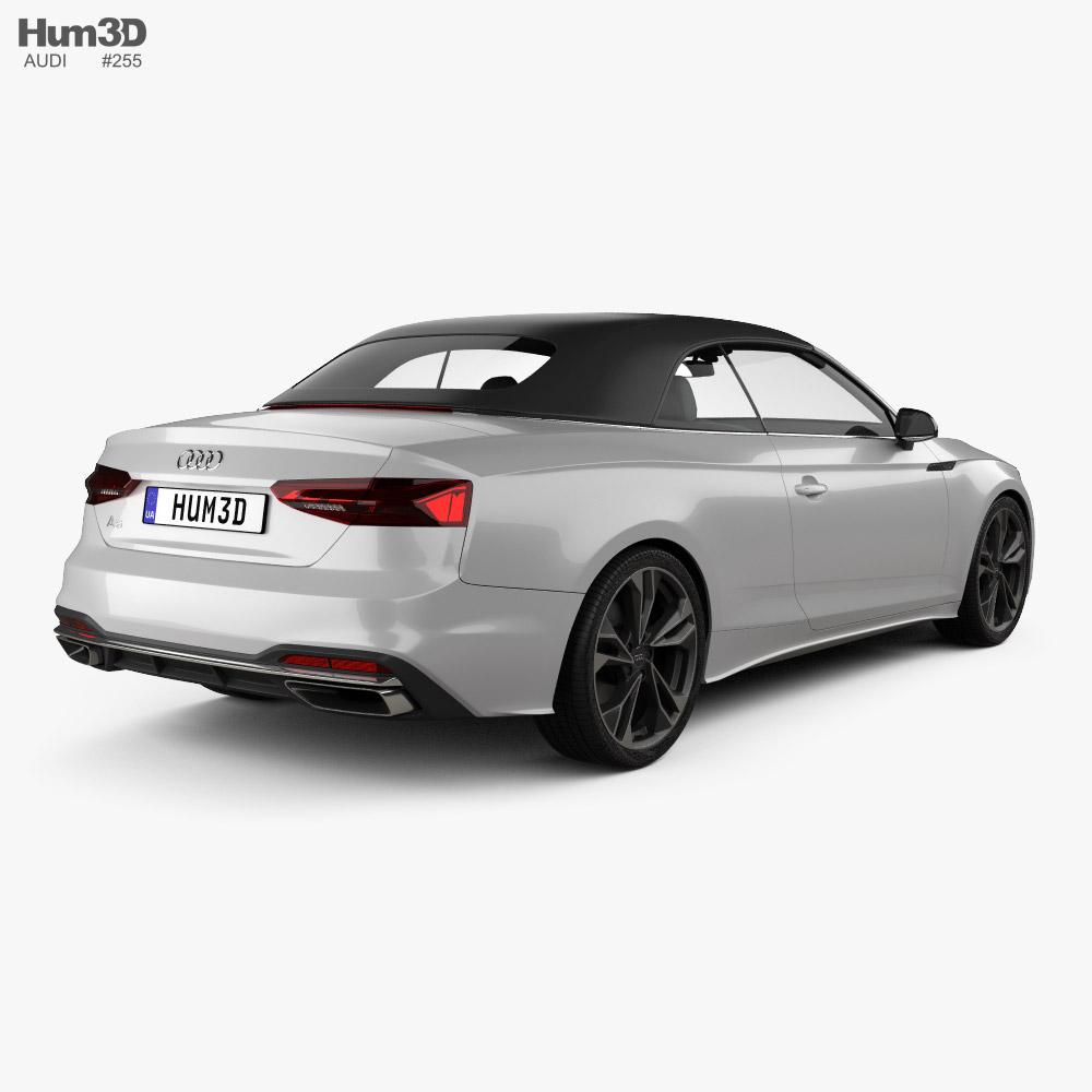Audi A5 cabriolet 2019 3d model