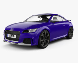Audi TT RS coupe 2016 3D model