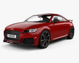 Audi TT RS coupe 2019 3D model