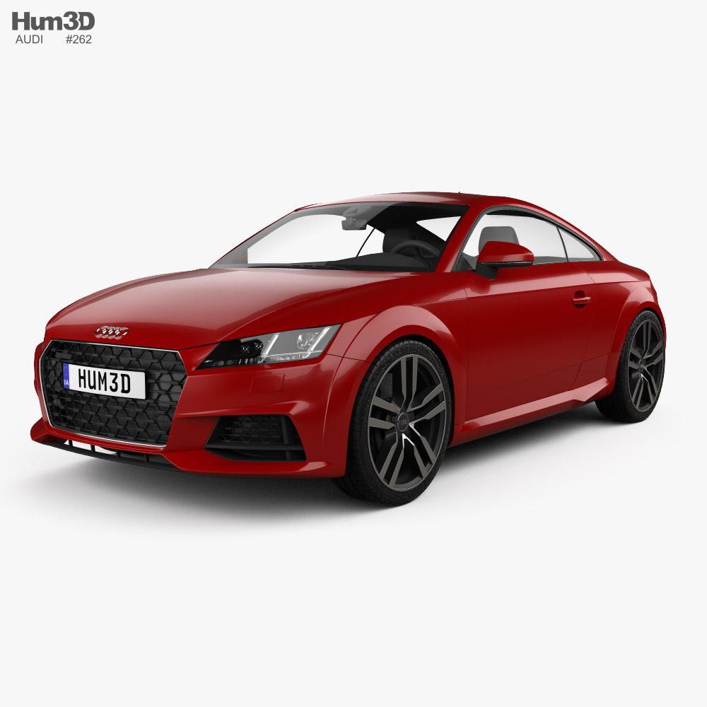 Audi TT coupe 2018 3D model