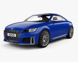 Audi TT S coupe 2018 3D model