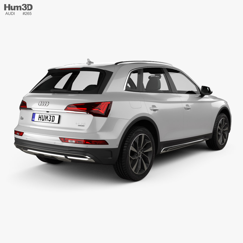 Audi Q5 2020 3D model