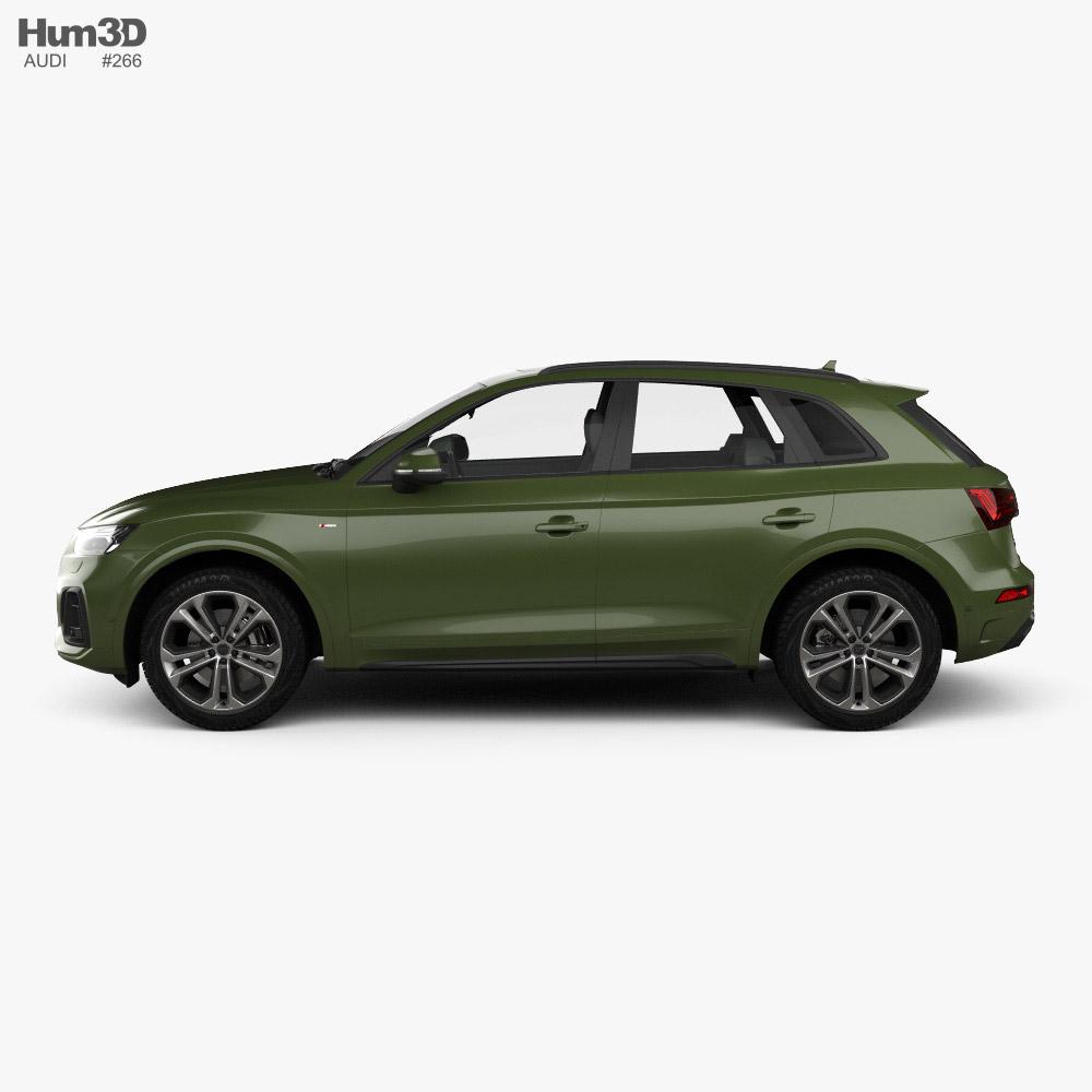 Audi Q5 S-line 2020 3D model