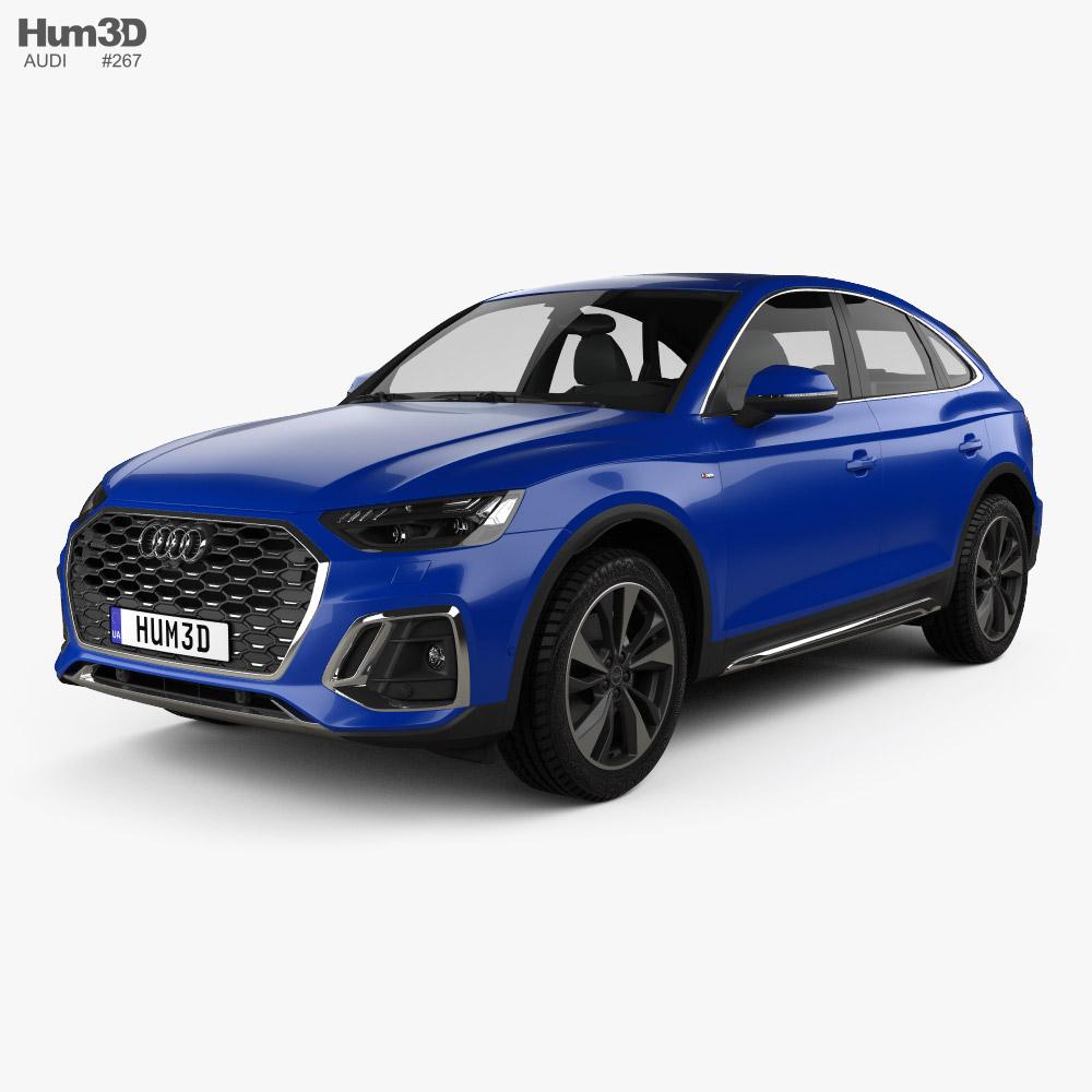 Audi Q5 Sportback S-line 2020 3D model