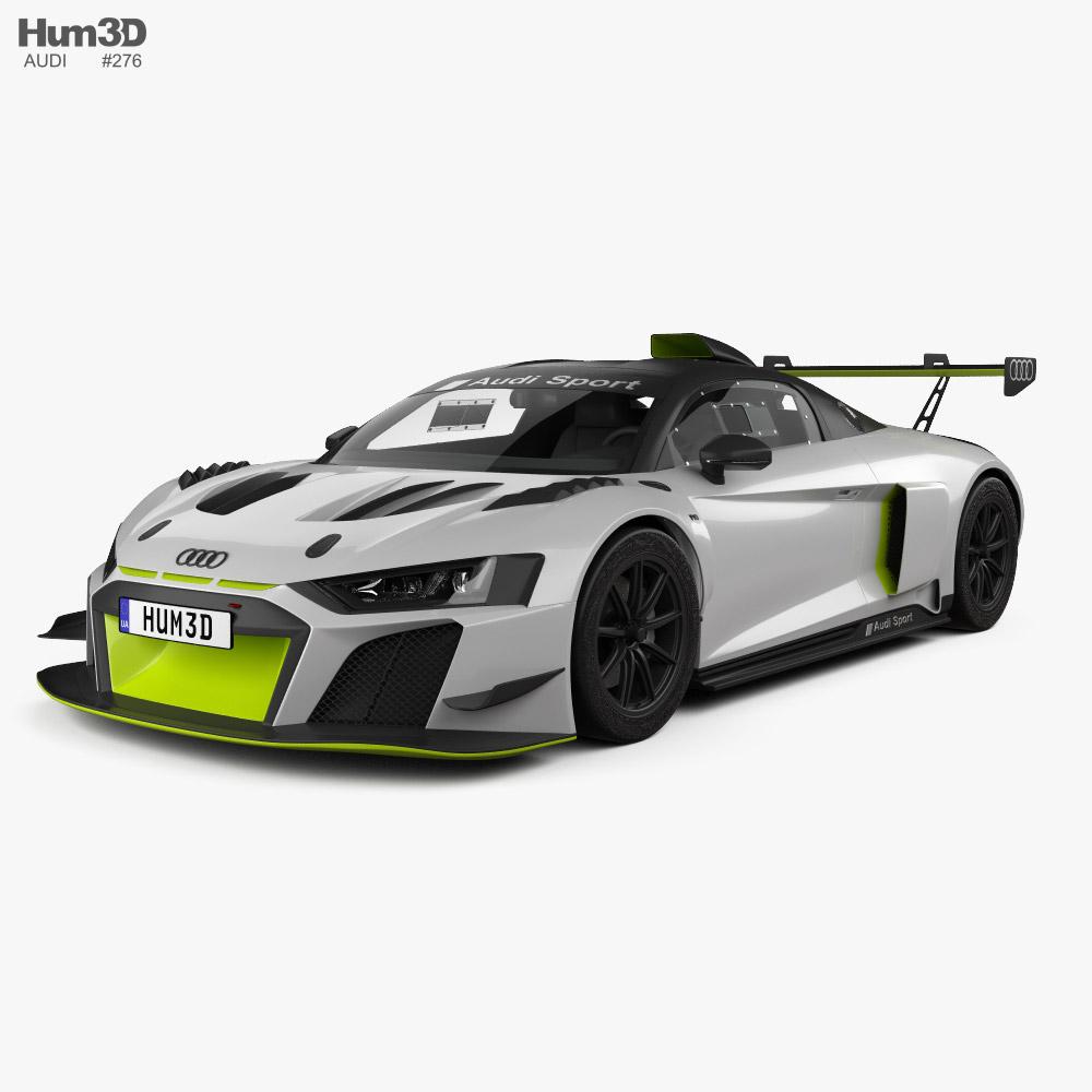Audi R8 LMS GT2 2021 3D model