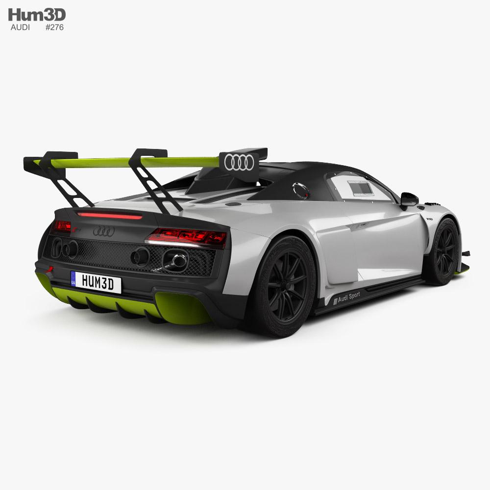 Audi R8 LMS GT2 2021 Modelo 3d vista traseira