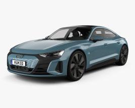 Audi e-tron GT 2021 3D model