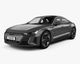 Audi e-tron GT RS 2021 3D model