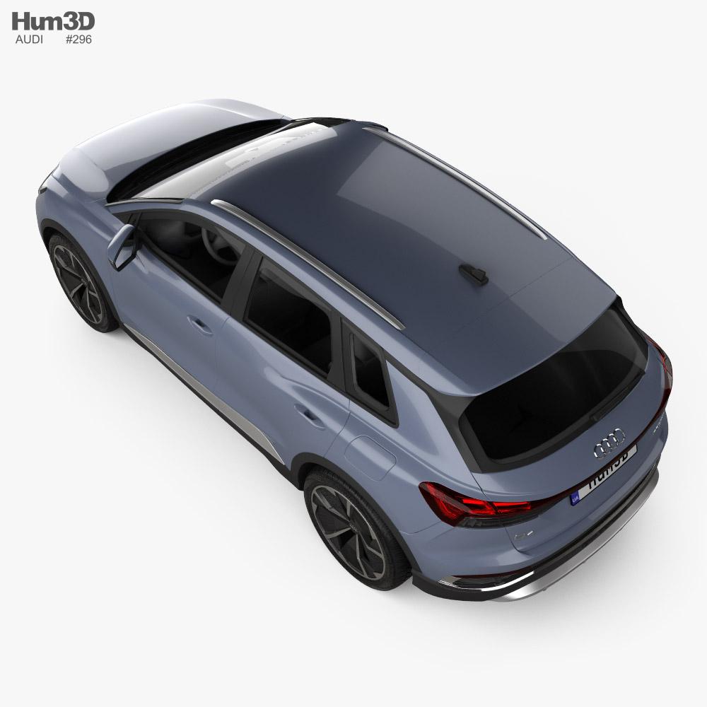 Audi Q4 e-tron S-line 2021 3D model