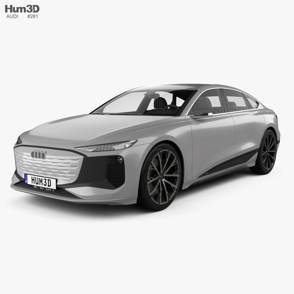 Audi A6 e-tron 2021 3D model