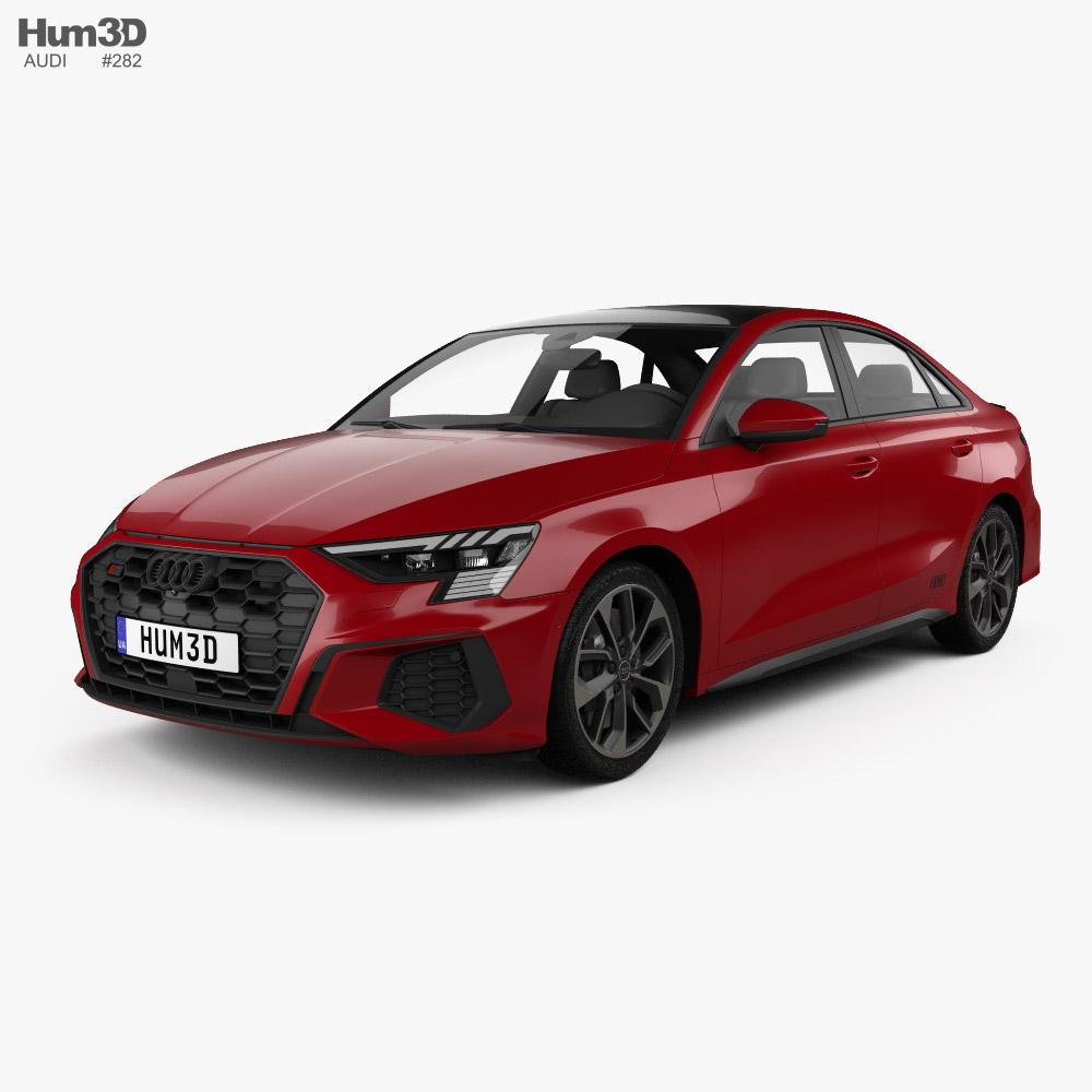 Audi S3 Edition One sedan 2020 3D model