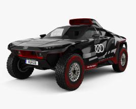 Audi RS Q e-tron Dakar Rally 2022 3D model