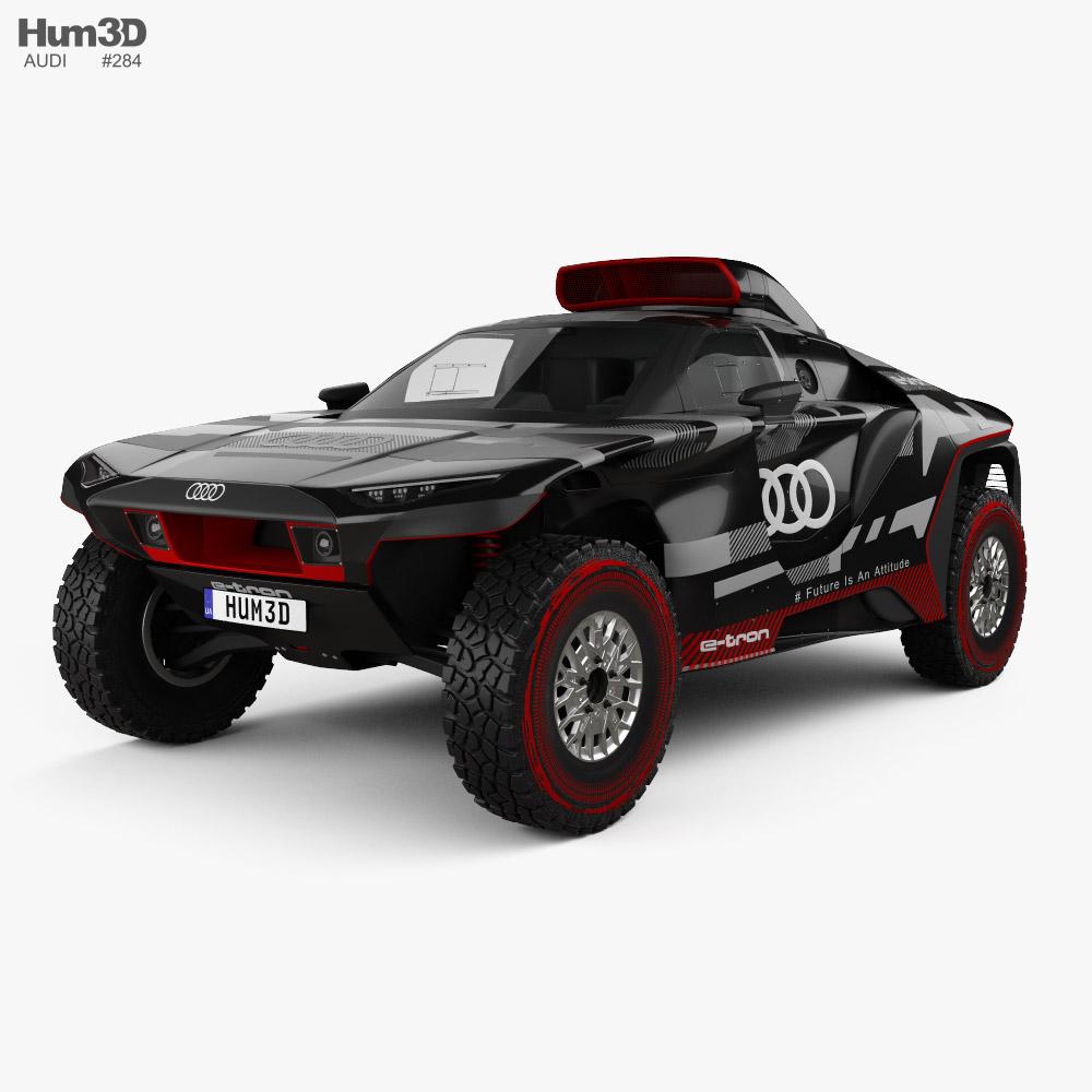 Audi RS Q e-tron Dakar Rally 2022 Modelo 3D